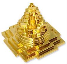 Maha-meru brass shree yantra