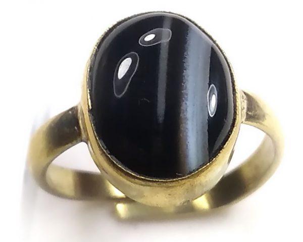 Sulemani hakik adjustable ring